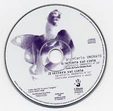 lettera sul cielo (singolo) Sony/Lilium